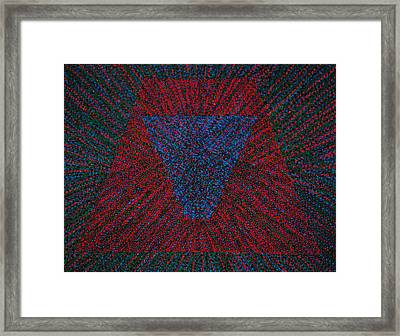 Framed Print featuring the painting Mobius Band by Kyung Hee Hogg