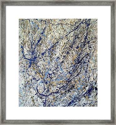 Composition #11 Framed Print