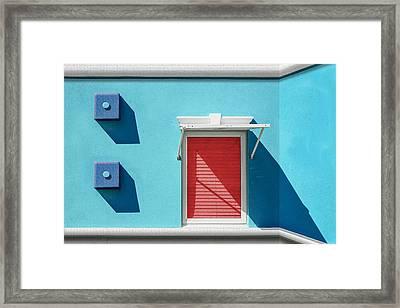 11 O'clock Shadow Framed Print by Paul Wear