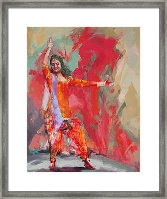 11 Pakistan Folk Punjab B Framed Print