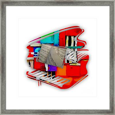 Piano Collection Framed Print