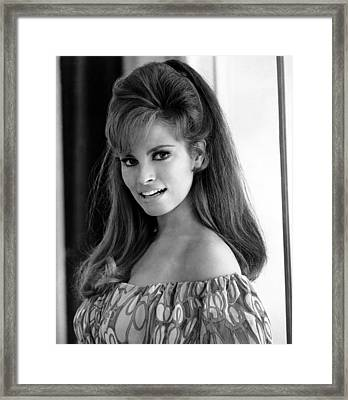 Raquel Welch, 1960s Framed Print by Everett