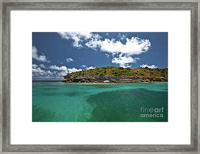 Sea And Clouds Framed Print