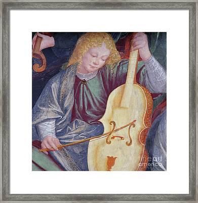 The Concert Of Angels Framed Print