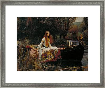 The Lady Of Shalott Framed Print