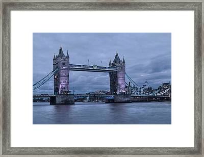 Tower Bridge - London Framed Print