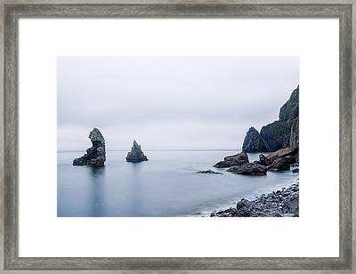 Vestmannaeyjar - Iceland Framed Print