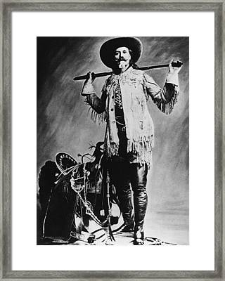 William F. Cody (1846-1917) Framed Print by Granger