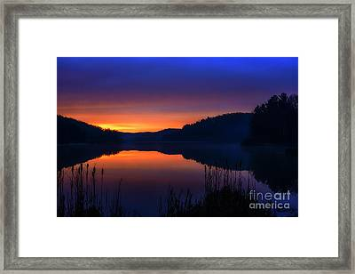 Framed Print featuring the photograph Winter Dawn by Thomas R Fletcher