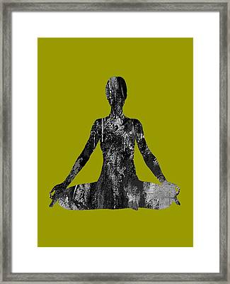 Yoga Collection Framed Print by Marvin Blaine