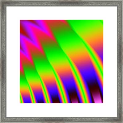 Framed Print featuring the digital art 110 In The Shade by Kevin Caudill