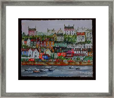 110 Windows On Kinsale Harbour Framed Print