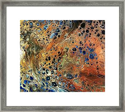 #111 Framed Print