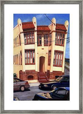 111 Oriental Avenue Framed Print