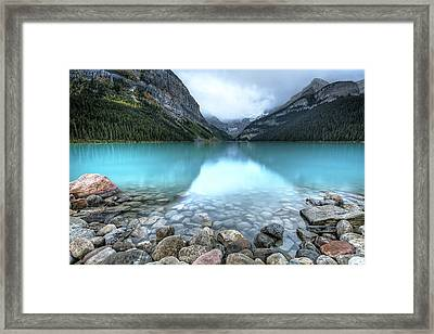1111 Lake Louise Framed Print