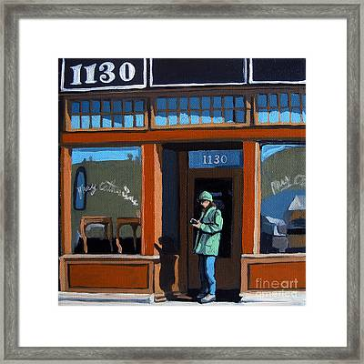 1130 High St. Framed Print by Linda Apple