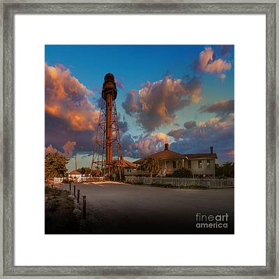 114 Periwinkle Way Framed Print