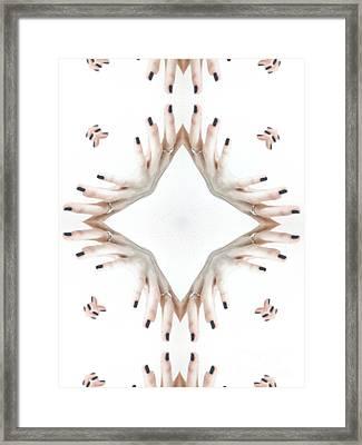 Unique Design Pattern Framed Print