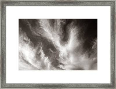 116 - Atmospheric - Cloud Formation Framed Print by Eric  Copeman