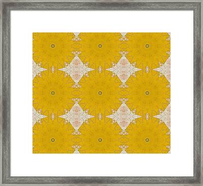 Pattern And Optics Art Framed Print by Ricki Mountain