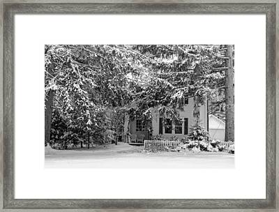 Framed Print featuring the photograph 117 Center Street by Don Nieman