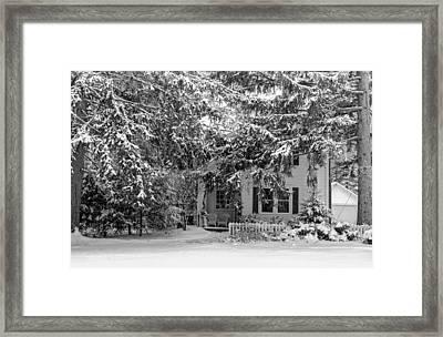 117 Center Street Framed Print by Don Nieman