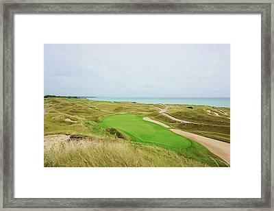 11th Green Par 3 Irish Course Framed Print