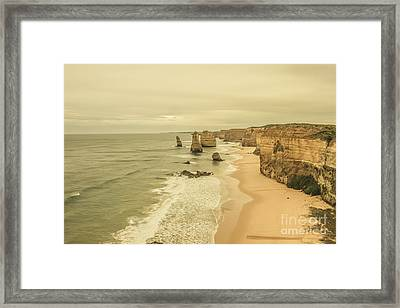 12 Apostles Morning Landscape Framed Print by Jorgo Photography - Wall Art Gallery