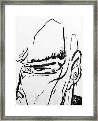 12 Framed Print by Brian Kendall James
