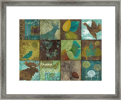 12 Days In The Woods Framed Print by Mindy Sommers