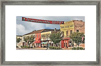 Downtown Perrysburg Framed Print
