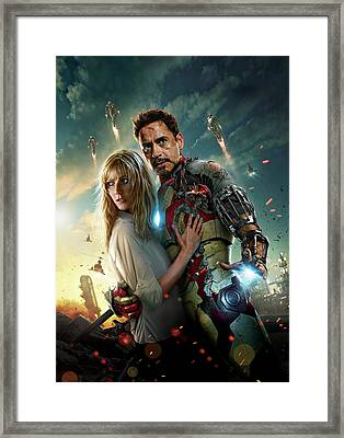 Iron Man 3 Framed Print by Unknown