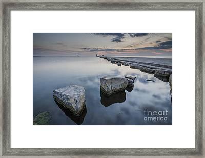 Ludington Beach Framed Print by Twenty Two North Photography