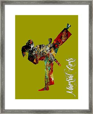 Martial Arts Collection Framed Print