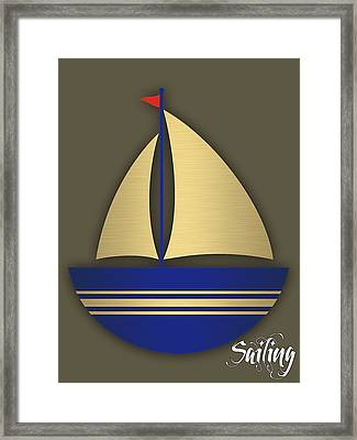 Nautical Collection Framed Print
