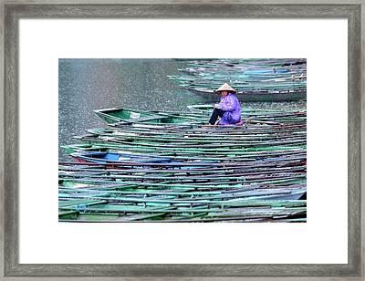 Ninh Binh - Vietnam Framed Print