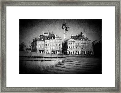 Old Town In Warsaw Framed Print by Artur Bogacki