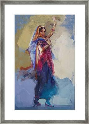 12 Pakistan Folk Punjab Framed Print