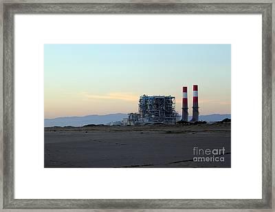 Power Station Framed Print by Henrik Lehnerer