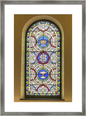 Saint Anne's Windows Framed Print