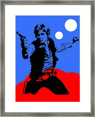 Star Wars Han Solo Collection Framed Print