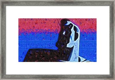 Superman Art Framed Print by Egor Vysockiy