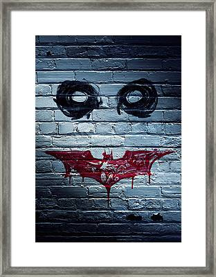 The Dark Knight 2008  Framed Print