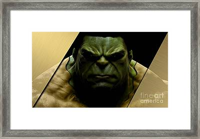 The Incredible Hulk Collection Framed Print