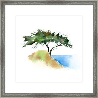 #12 Tree Framed Print by Amy Kirkpatrick