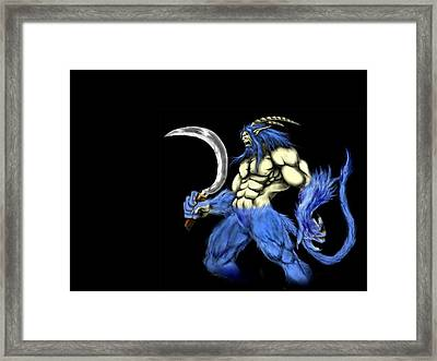 Warcraft Framed Print