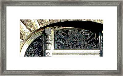 Window Series Framed Print by Ginger Geftakys