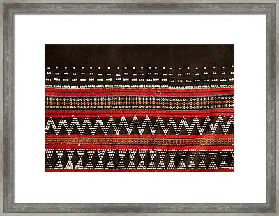 Wovensouls - 28 Framed Print by Jaina Mishra