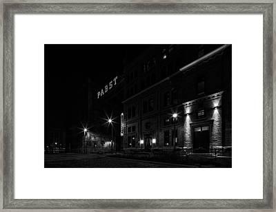 1201a Framed Print by CJ Schmit