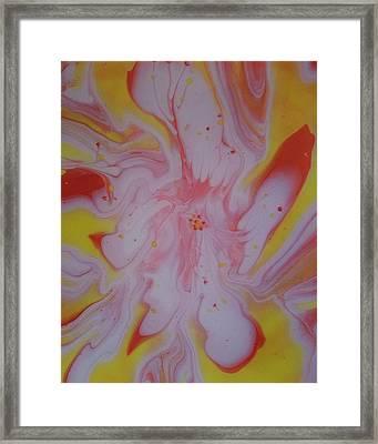 #121 Framed Print